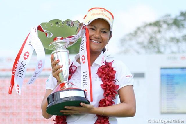 2010年 HSBC女子チャンピオンズ 最終日 宮里藍 LPGAの2010年は、宮里藍の2連勝で華々しく幕を開けた!