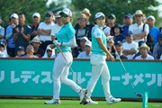 2019年 ニトリレディスゴルフトーナメント 最終日 岡山絵里 永峰咲希