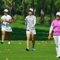 女王2人に挟まれても物怖じせず。 2019年 ニトリレディスゴルフトーナメント 最終日 安田祐香