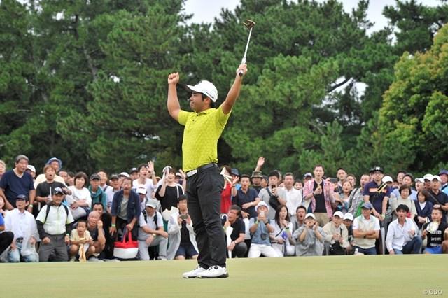 2019年 RIZAP KBCオーガスタゴルフトーナメント 最終日 比嘉一貴 初優勝を飾った比嘉一貴