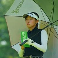 いつものように落ち着いたプレーぶり。 2019年 ゴルフ5レディス プロゴルフトーナメント 初日 臼井麗香