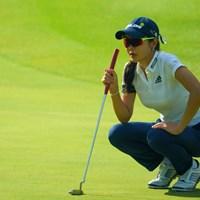 アン・シネは「日焼けしないように」と地味めのウェア 2019年 ゴルフ5レディス プロゴルフトーナメント 2日目 アン・シネ