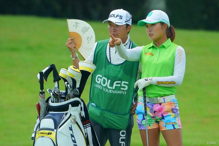 ボス、不動心でお願いします! 2019年 ゴルフ5レディス プロゴルフトーナメント 2日目 高橋彩華