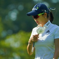 惜しくも1打足りず予選落ちに。 2019年 ゴルフ5レディス プロゴルフトーナメント 2日目 アン・シネ