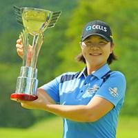 今季2勝目をあげたイ・ミニョン 2019年 ゴルフ5レディス プロゴルフトーナメント 最終日 イ・ミニョン