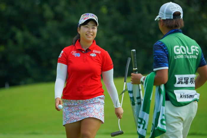 最終日に「65」をマークした武尾咲希。ホステスプロが気を吐いた 2019年 ゴルフ5レディス プロゴルフトーナメント 最終日 武尾咲希