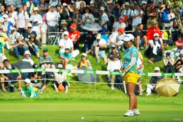浅井咲希は最後に決めきれず、優勝のチャンスを逃した