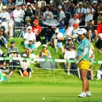 浅井咲希は最後に決めきれず、優勝のチャンスを逃した 2019年 ゴルフ5レディス プロゴルフトーナメント 最終日 浅井咲希