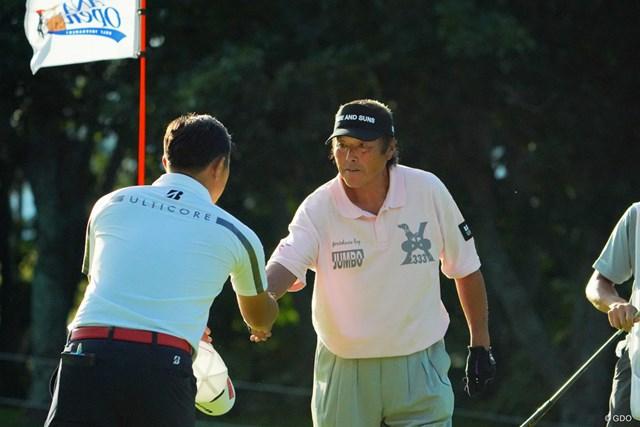 尾崎将司は「81」でプレー