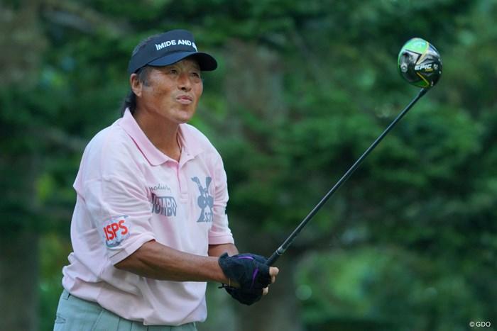 輪厚が一番似合う男。 2019年 ANAオープンゴルフトーナメント 初日 尾崎将司