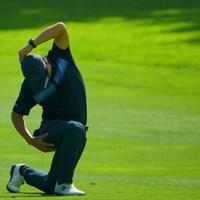 腰が痛いように見えましたが。 2019年 ANAオープンゴルフトーナメント 初日 石川遼