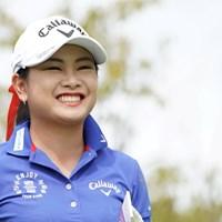 笑顔かわいいい 2019年 日本女子プロ選手権大会コニカミノルタ杯 初日 河本結