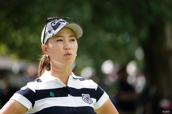 姉貴のような存在 2019年 日本女子プロ選手権大会コニカミノルタ杯 初日 上田桃子