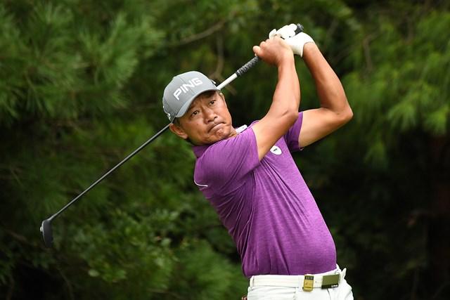 塚田好宣は首位に2打差で最終日へ(日本プロゴルフ協会提供)