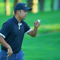時松隆光が「67」で単独首位に浮上した 2019年 ANAオープンゴルフトーナメント 2日目 時松隆光