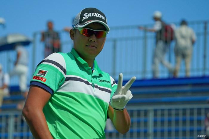 早くもV宣言かと思ったのに、今日は残念ながらスコアを伸ばせず。 2019年 ANAオープンゴルフトーナメント 2日目 出水田大二郎