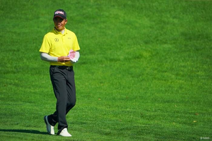 ノーボギーのゴルフでスコアを伸ばし、3位タイに。 2019年 ANAオープンゴルフトーナメント 2日目 リャン・ウェンチョン