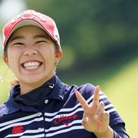 最高の笑顔やね 2019年 日本女子プロ選手権大会コニカミノルタ杯 2日目 田中瑞希