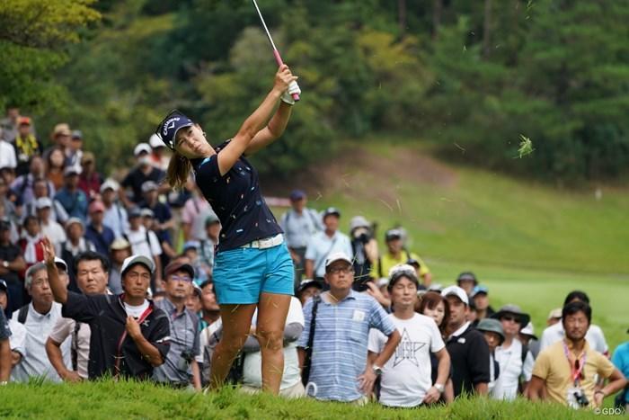 大きなトラブルにならなくて良かったね 2019年 日本女子プロ選手権大会コニカミノルタ杯 2日目 上田桃子