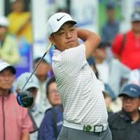 首位タイで最終日を迎える時松隆光 2019年 ANAオープンゴルフトーナメント  3日目 時松隆光