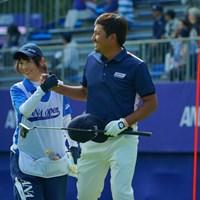 このハウスキャディさんにかなり助けられたようですね。 2019年 ANAオープンゴルフトーナメント 3日目 正岡竜二