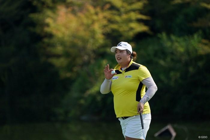 メジャー新記録の「63」で3位に浮上したフォン・シャンシャン 2019年 日本女子プロ選手権大会コニカミノルタ杯 3日目 フォン・シャンシャン