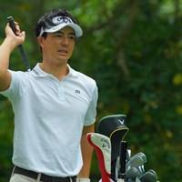 背中なのか腰なのか。痛みがあるようだ。 2019年 ANAオープンゴルフトーナメント 最終日 石川遼
