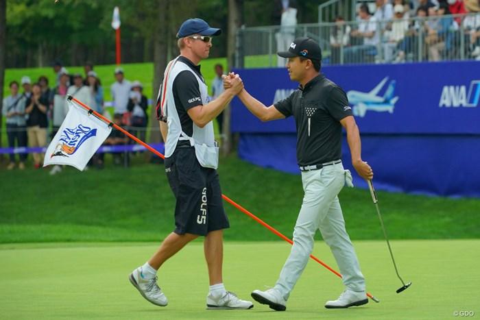 行くぜプレーオフ! 2019年 ANAオープンゴルフトーナメント 最終日 スンス・ハン