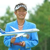 この飛行機ももらえるの? 2019年 ANAオープンゴルフトーナメント 最終日 浅地洋佑