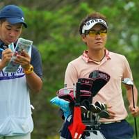 11番ティ、まだこの時点では優勝を全く想像できなかった。 2019年 ANAオープンゴルフトーナメント 最終日 浅地洋佑