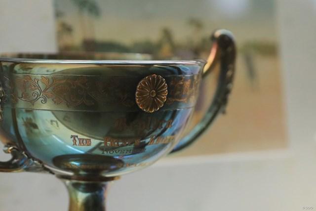 JGAゴルフミュージアム 摂政杯 昭和天皇が皇太子時代にプリンス・オブ・ウェールズとの親善試合で下賜した摂政杯