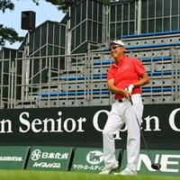 日本シニアオープン開幕前日に練習ラウンドを行った谷口徹 2019年 日本シニアオープンゴルフ選手権競技  事前 谷口徹