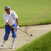 このショットでピンそば1m 2019年 日本シニアオープンゴルフ選手権競技 初日 尾崎健夫
