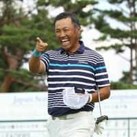 清水洋一は地元・日高市出身のプロ。初勝利を狙う 2019年 日本シニアオープンゴルフ選手権競技 初日 清水洋一