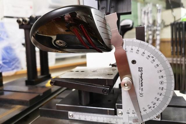 リアルロフト角は10.5度と表示ロフト角と同じだが、高弾道が打ちやすい