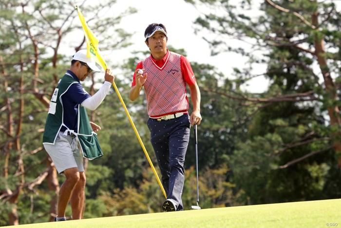深堀圭一郎も初出場。さわやかシニア 2019年 日本シニアオープンゴルフ選手権競技 2日目 深堀圭一郎