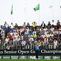 谷口徹は週末にしっかり最終組でプレー 2019年 日本シニアオープンゴルフ選手権競技 3日目 谷口徹