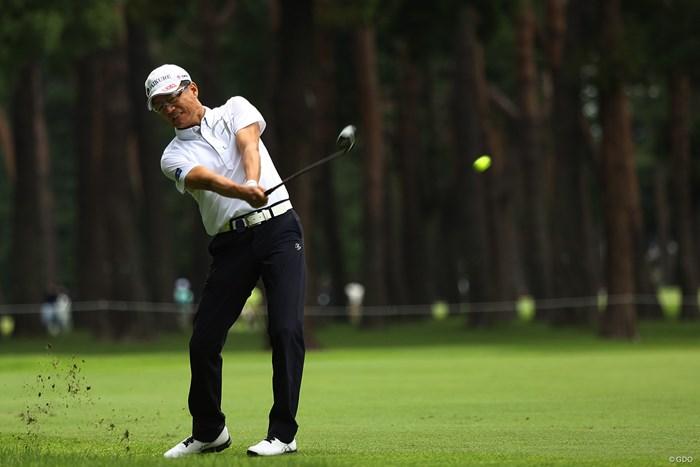 49歳でプロ転向 2019年 日本シニアオープンゴルフ選手権競技 3日目 田村尚之