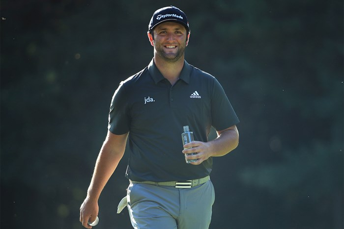 首位で最終日を迎えるジョン・ラーム(Andrew Redington/Getty Images) 2019年 BMW PGA選手権 3日目 ジョン・ラーム