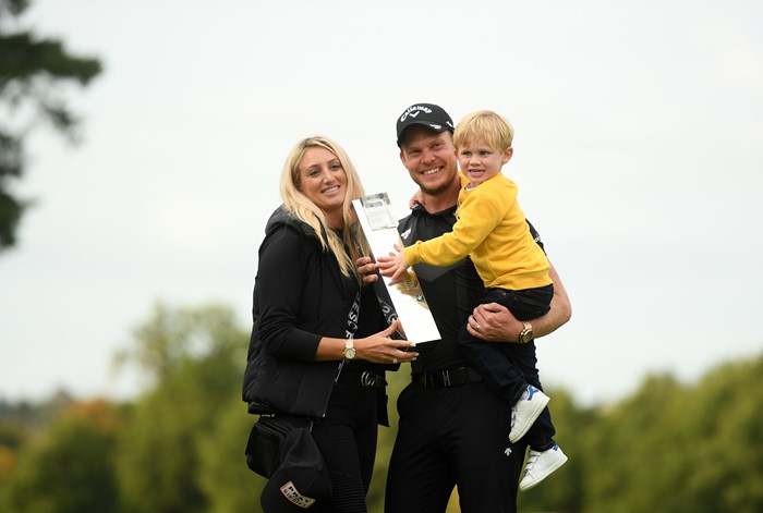 競り勝ったウィレット(Harry TrumpGetty Images) 2019年 BMW PGA選手権 最終日 ダニー・ウィレット