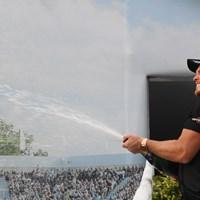 欧州ツアーのビッグタイトルを獲得したダニー・ウィレット(Ross Kinnaird/Getty Images) 2019年 BMW PGA選手権 最終日 ダニー・ウィレット
