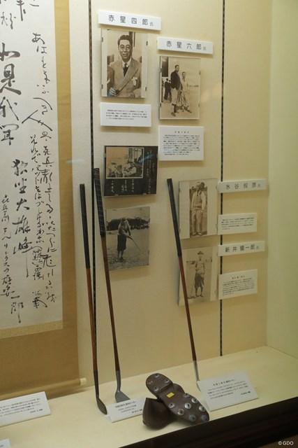 JGAゴルフミュージアム 赤星四郎 赤星六郎 赤星六郎(右)は初の日本オープン王者。兄の四郎も有名なアマチュアだった