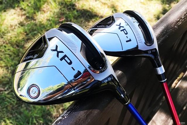 男子プロも使いそう…本間ゴルフ-ツアーワールド-XP-1 ドライバーとフェアウェイウッド