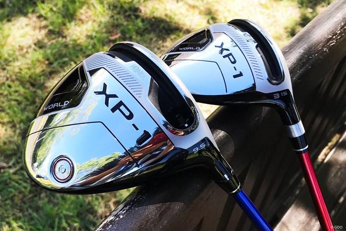 男子プロも使いそう…本間ゴルフ-ツアーワールド-XP-1 ドライバーとフェアウェイウッド 2019年 パナソニックオープンゴルフチャンピオンシップ 事前 本間ゴルフ-ツアーワールド-XP-1-ドライバー