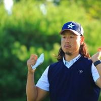 スヌーピーみたいで可愛いヘアスタイル 2019年 パナソニックオープンゴルフチャンピオンシップ 初日 新木豊