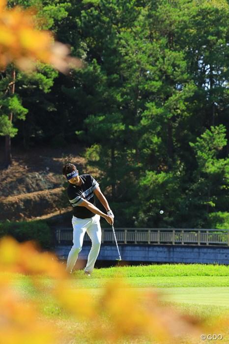 もう秋ですね 2019年 パナソニックオープンゴルフチャンピオンシップ 初日 額賀辰徳