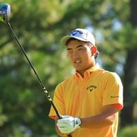 黄色が似合ってます 2019年 パナソニックオープンゴルフチャンピオンシップ 初日 河本力