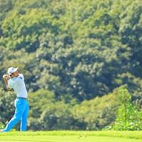 白と水色の爽やかなファッション 2019年 パナソニックオープンゴルフチャンピオンシップ 初日 ロリー・ヒー