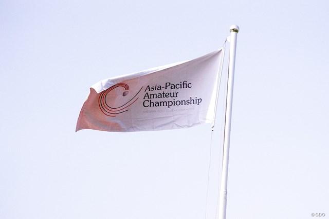 上海・シェシャンインターナショナルGCで開催中の「アジアパシフィック選手権」
