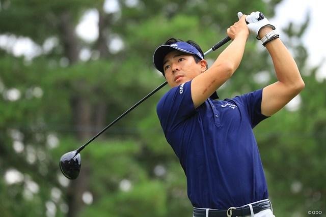 石川遼が「62」をマークし、2位に急浮上した